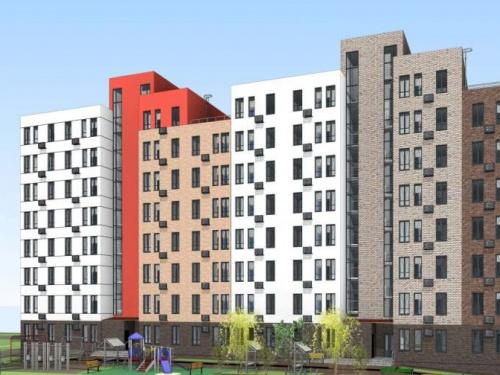 В Мариуполе обустраивают свайное поле под первый в Украине стальной жилой дом